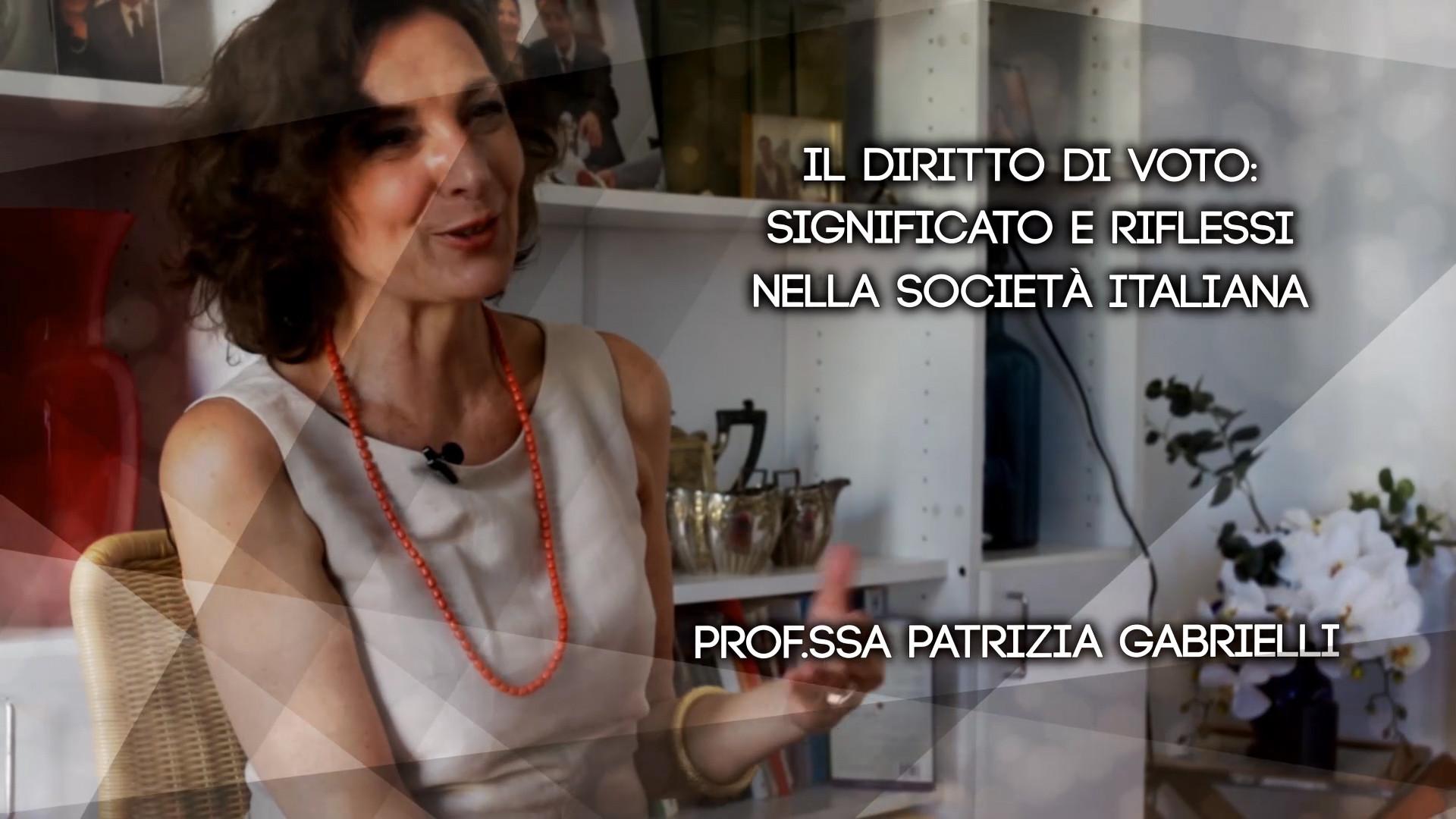 Ep3 Il diritto di voto: significato e riflessi nella società italiana - Patrizia Gabrielli